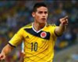 Falcao and James in Colombia squad to face Brazil