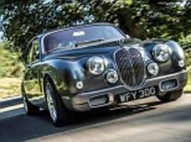 Jaguar designer transforms classic 1962 Mark 2 saloon into a 21st-century animal complete with DVD player, reversing camera and iPhone connector