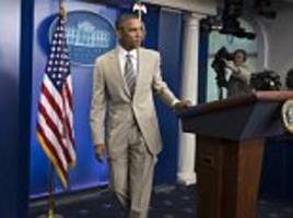 White House says Barack Obama 'stands squarely behind his decision' to wear tan suit
